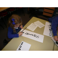 ...and painted our names using Chinese symbols.