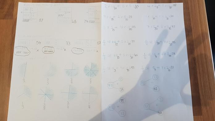 Amazing work on so many maths concepts, Lewis!