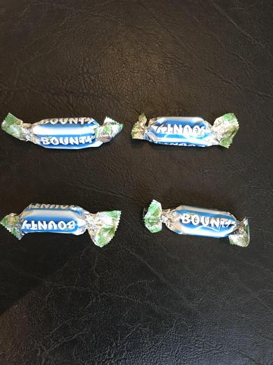 Even - 4 chocolates (that nobody likes!)