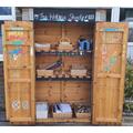 Playground writing shed