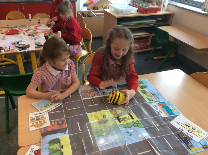 Programming the Beebot