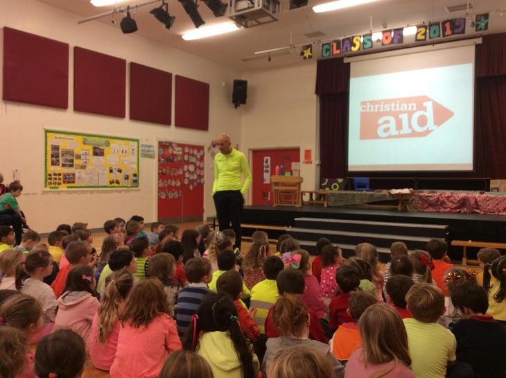 Christian Aid spoke about life around the world