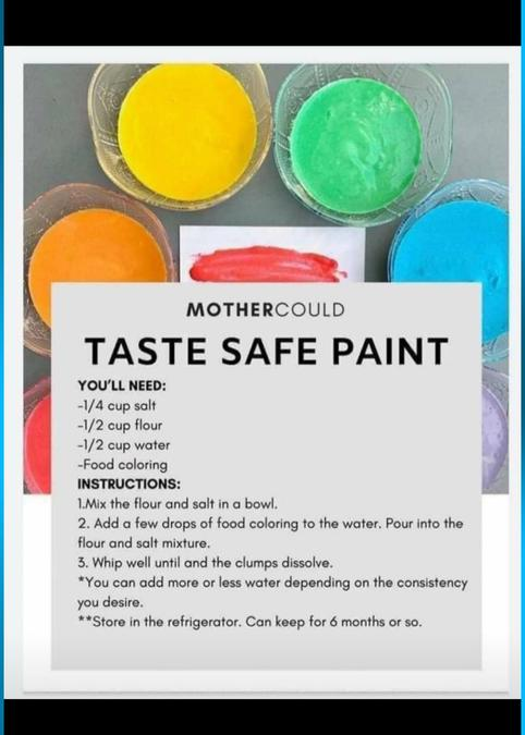 Easy paint recipe for at home