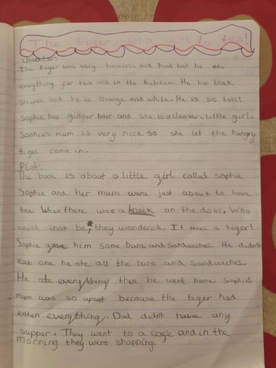 Emilia - Miss Kett's class