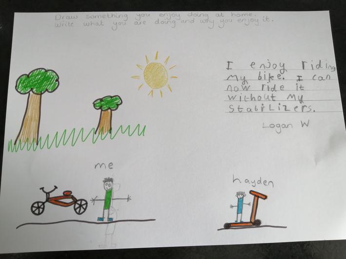 Logan - Miss Kett's class