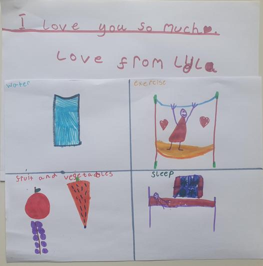 Lyla - Mrs Hill's class