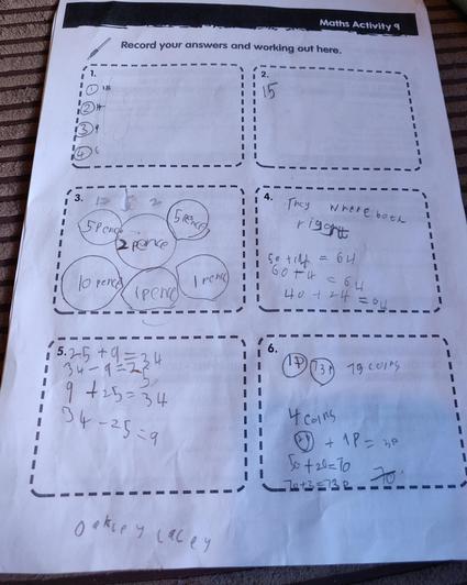 Oakley - Mrs Rose's class