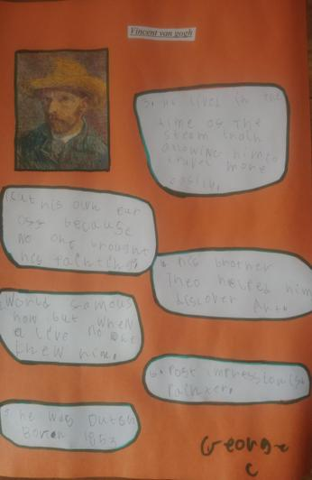 George - Mrs Rose's class