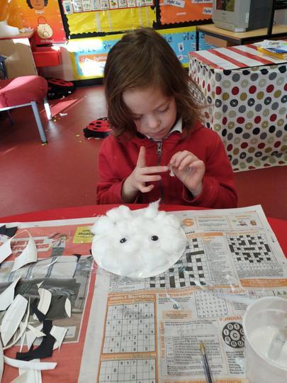 Creating a fluffy polar bear