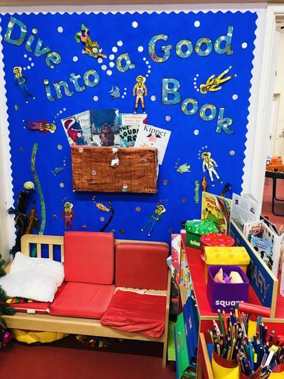 Infant STF reading corner.