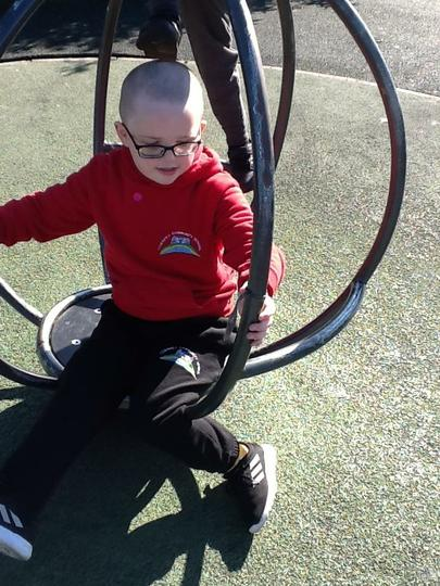 Sometimes we can spin round!