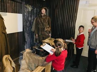 Learning about World War 1.