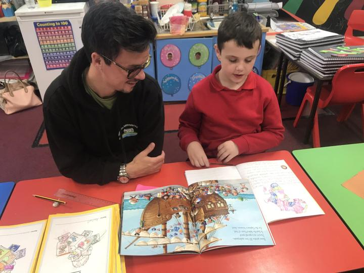 Finding rhyming words in a book