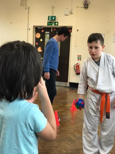 Sports Relief PE lesson