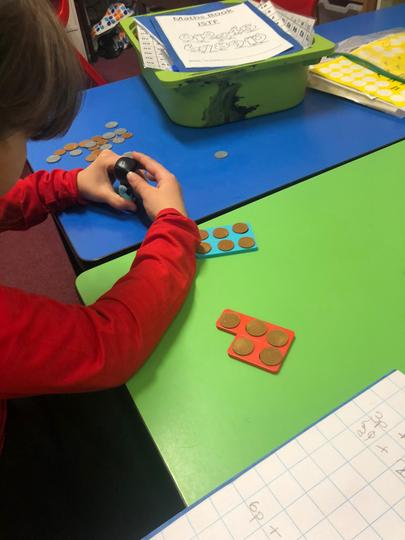 Using Numicon to help us with money