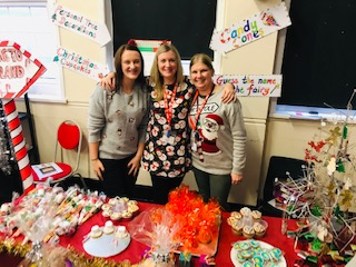 Our Christmas Fete STF stall was a success!
