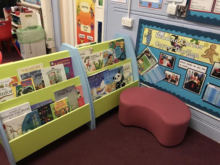 Junior STF reading corner.