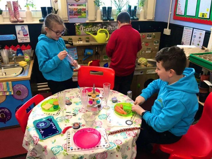 Using our garden centre to develop oracy skills