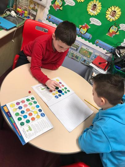 We love playing games to help us learn