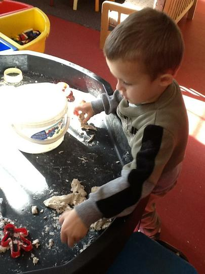 Using and learning about different materials.