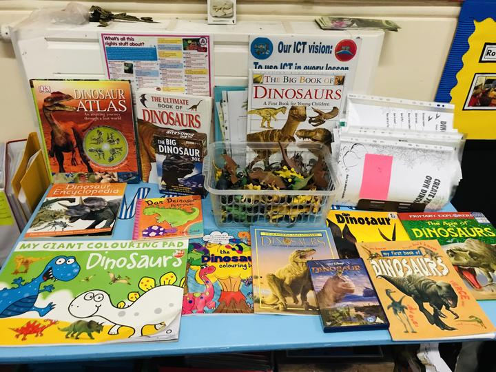 We look at a range of topic books!