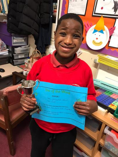 We have a 'Dojo Star of the Week' trophy