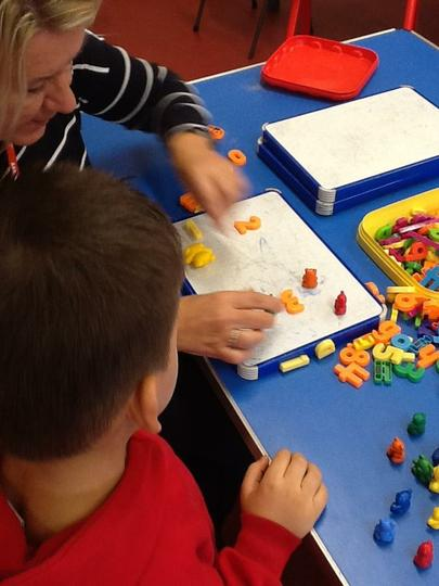 We have help to count and add up!