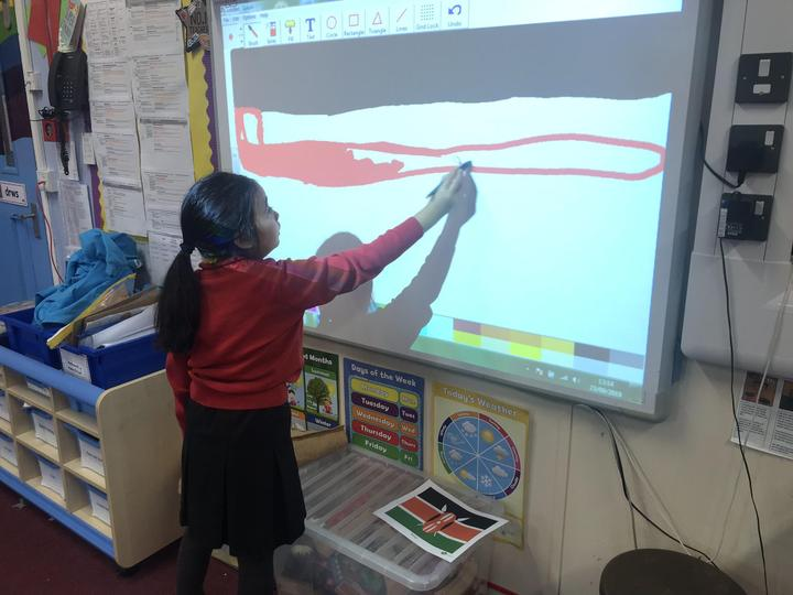 Using ICT to recreate the Kenyan flag