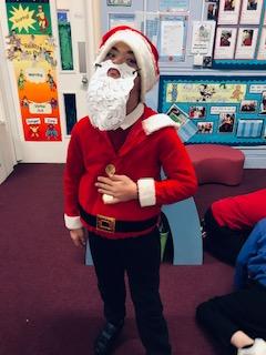We love dressing up! Ho, ho ho!