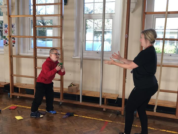 We learnt how to juggle in our circus PE Lesson