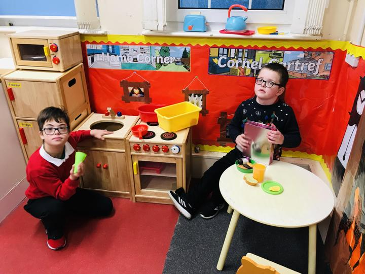 We love our role play areas!
