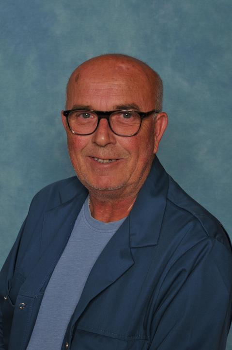 Mr Whitby. School Caretaker