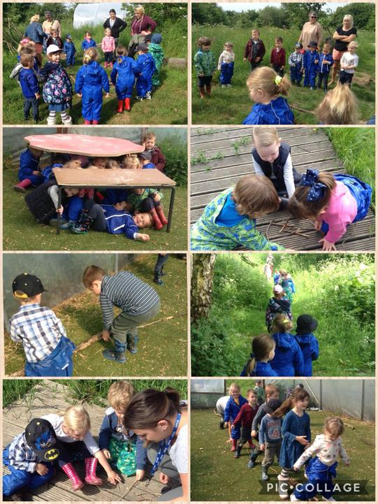 Jack and the beanstalk themed Forest School fun!