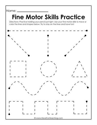 scissor control worksheet
