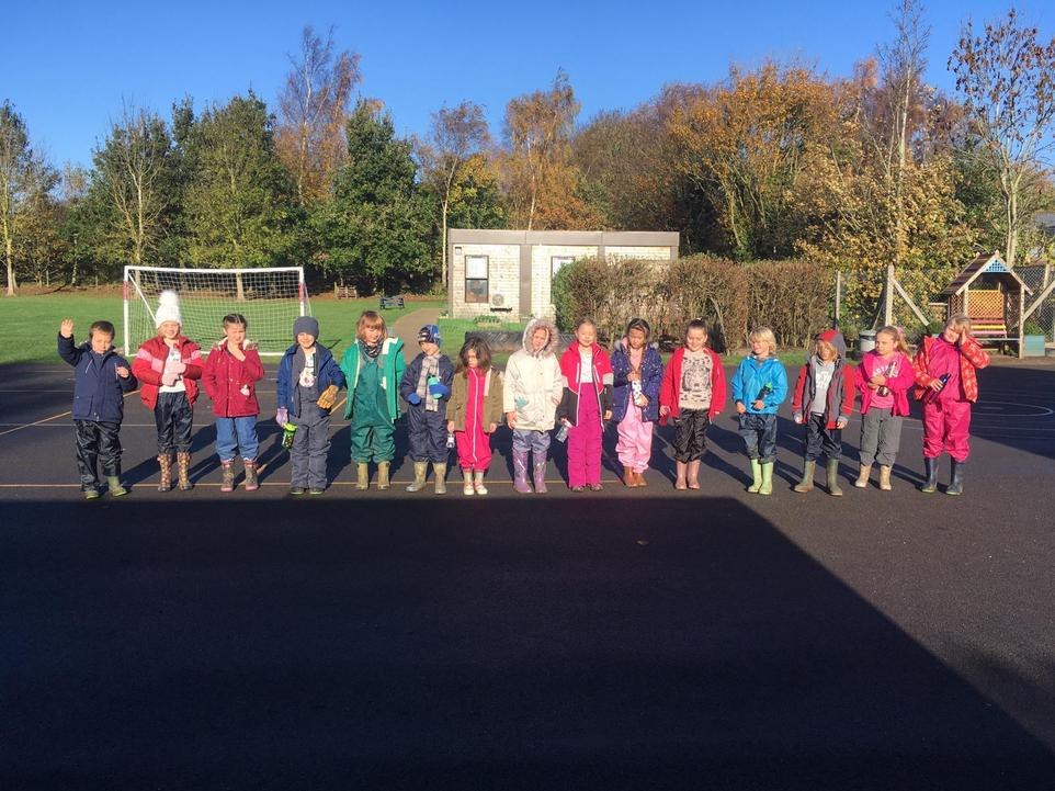 The Maples Class ready for an adventure in Wild At Heart