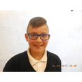 Kian Jenkins school council member for RRSA
