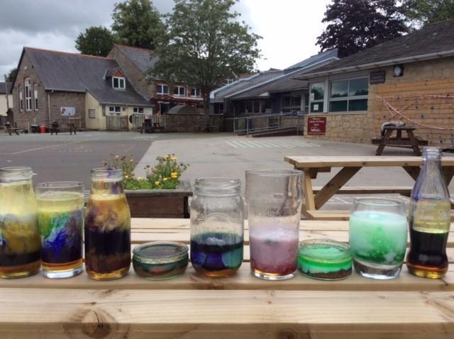 Rainbow fun with density!