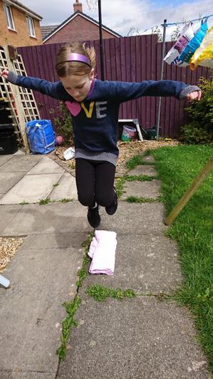 Speed bounce challenge
