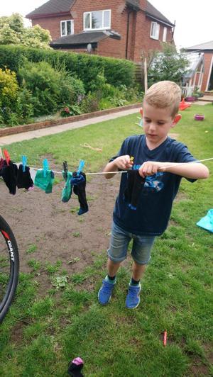 Washing line challenge