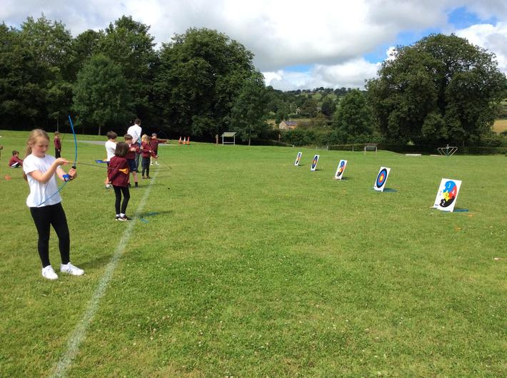 Archery- target practise