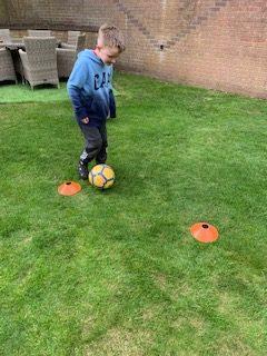 Football dribble