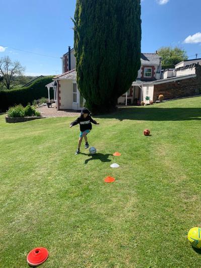 Completing the School PE challenge