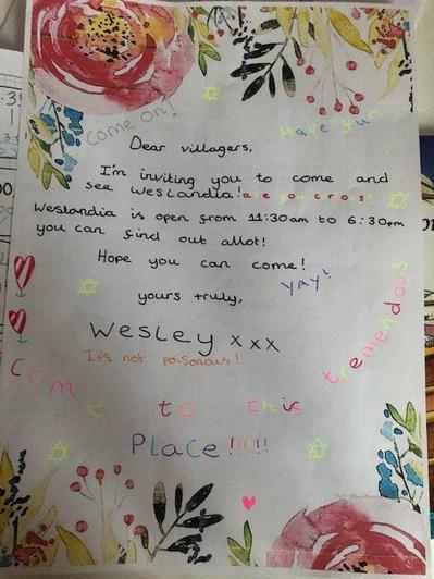 Invitation to Weslandia