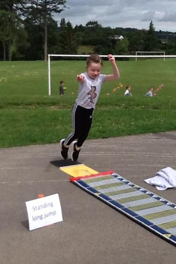 Standing long jump