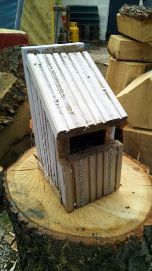 Making a bird house