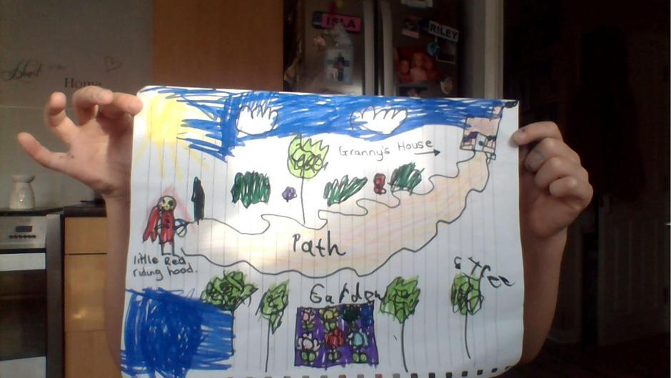 Creating maps to Granny's house.