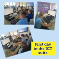 Visiting the ICT suite!