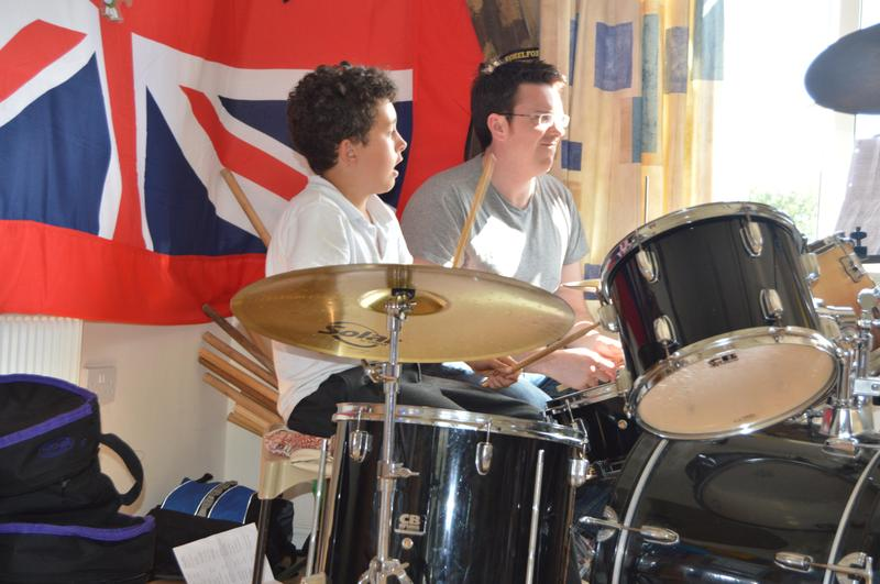 Drums at the Summer Concert