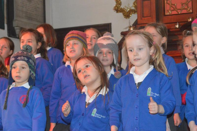 Choir at Christmas Tree Festival Concert