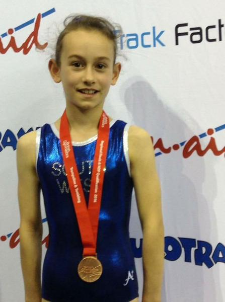 South West Tumbling Champion -Bronze  at Nationals